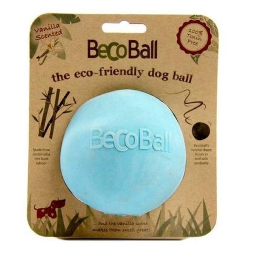Pelota de goma natural Beco Ball Azul