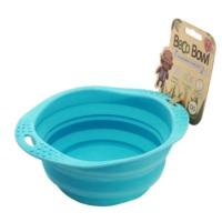 Comedero de viaje plegable Beco Bowl Azul