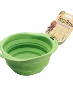 Comedero de viaje plegable Beco Bowl Verde