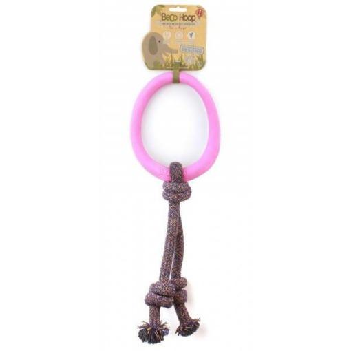 Beco Hoop con cuerda Rosa