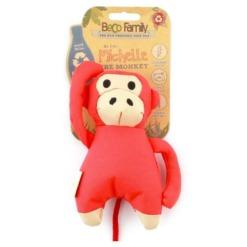 Juguete mono becopets para perros