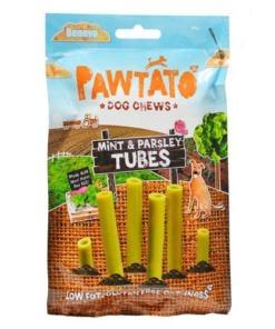 Benevo sticks para perros tubos de perejil y menta