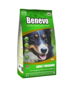 Benevo pienso orgánico para perros adultos