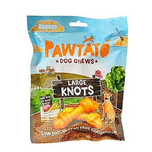 Benevo Pawtato knots large