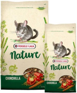 Pienso para chinchillas nature de versele laga