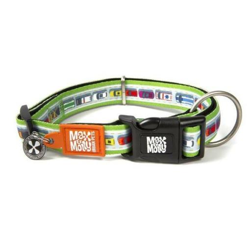 Max & Molly Collar para perros Traffic Jam