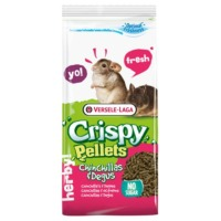 Pienso para chinchillas Crispy Pellets