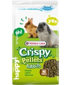 Pienso para conejos crispy pellets
