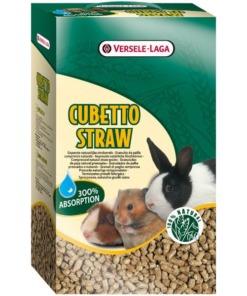 Lecho higiénico para roedores cubetto straw