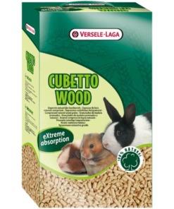 Lecho higiénico para roedores cubetto wood