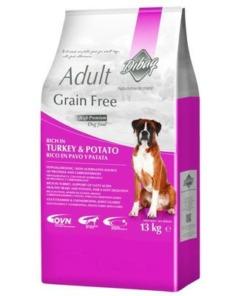 Pienso hipoalergenico para perros adultos de pavo y patata