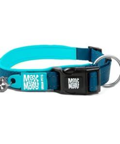 Max y Molly Collar para perros Matrix blue sky