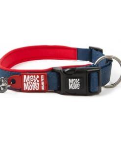 Max y Molly Collar para perros Matrix Rojo