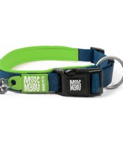 Max y Molly Collar para perros Matrix Green