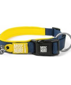 Max y Molly Collar para perros Matrix yellow