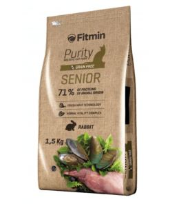 Fitmin Purity Senior Pienso para gatos Mayores