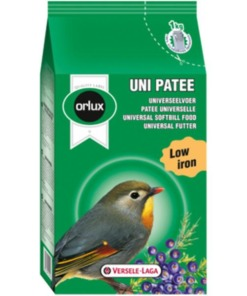 Orlux uni patee para pájaros insectívoros