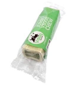 V-dog Jumbo Veggie Chew hueso masticable para perros