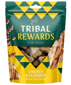 galletas tribal de pollo y semillas de lino