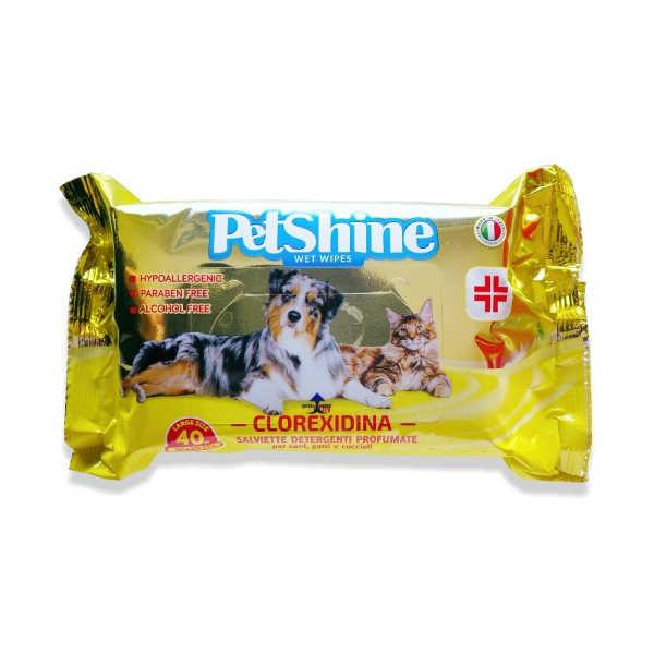 Petshine toallitas húmedas