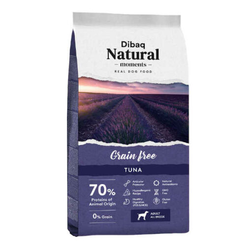 dibaq natural moments grain free atun