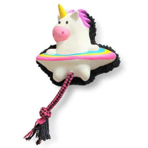 juguete para perros unicornio de max & molly