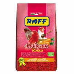 raff delicate rosso