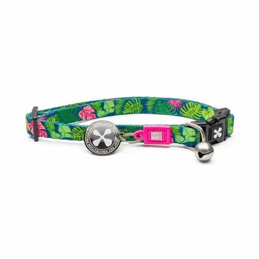 collar gato tropical