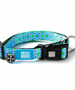 Collar para perro max molly retro blue
