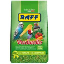 raff verdurello pasta para pajaros
